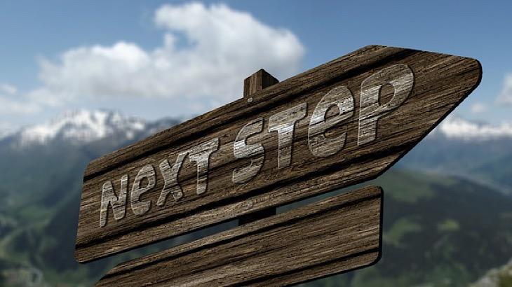 次の一歩を考える